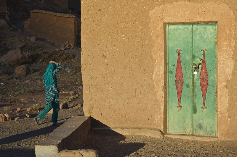 Vallée des roses// Maroc