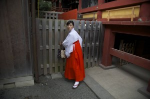 On day in Kamakura temple